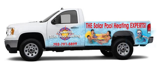 Las Vegas solar pool heating