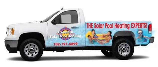 Las Vegas solar pool heating